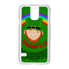 St  Patrick s Day Samsung Galaxy S5 Case (white) by Valentinaart