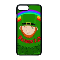 St  Patrick s Day Apple Iphone 7 Plus Seamless Case (black) by Valentinaart
