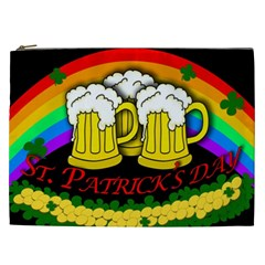 Beer Mugs Cosmetic Bag (xxl)  by Valentinaart