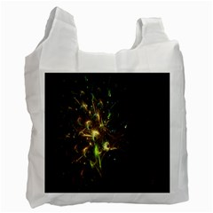 Fractal Flame Light Energy Recycle Bag (two Side)
