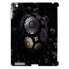 Fractal Sphere Steel 3d Structures Apple Ipad 3/4 Hardshell Case (compatible With Smart Cover) by Nexatart