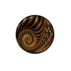 Fractal Spiral Endless Mathematics Hat Clip Ball Marker by Nexatart