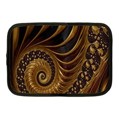 Fractal Spiral Endless Mathematics Netbook Case (medium)