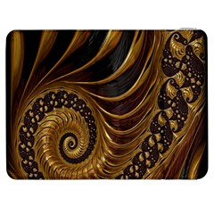 Fractal Spiral Endless Mathematics Samsung Galaxy Tab 7  P1000 Flip Case by Nexatart