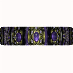 Fractal Sparkling Purple Abstract Large Bar Mats by Nexatart