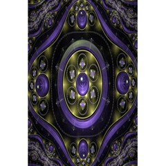 Fractal Sparkling Purple Abstract 5 5  X 8 5  Notebooks by Nexatart
