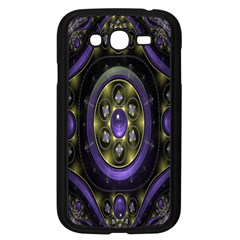 Fractal Sparkling Purple Abstract Samsung Galaxy Grand Duos I9082 Case (black) by Nexatart