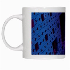 Fractals Geometry Graphic White Mugs