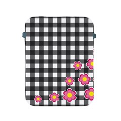 Floral Plaid Pattern Apple Ipad 2/3/4 Protective Soft Cases by Valentinaart