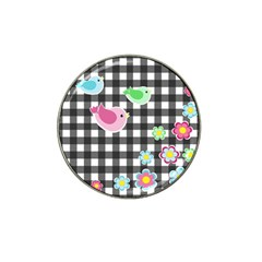 Cute Spring Pattern Hat Clip Ball Marker (10 Pack) by Valentinaart