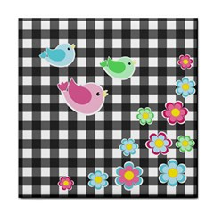 Cute Spring Pattern Face Towel
