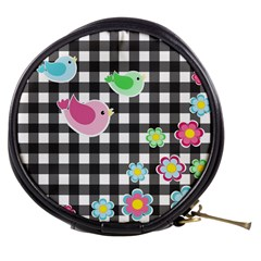 Cute Spring Pattern Mini Makeup Bags by Valentinaart