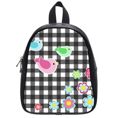 Cute Spring Pattern School Bags (small)  by Valentinaart