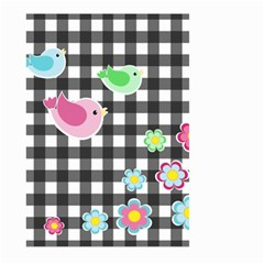 Cute Spring Pattern Large Garden Flag (two Sides)