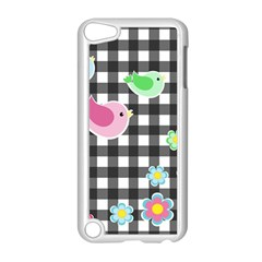 Cute Spring Pattern Apple Ipod Touch 5 Case (white) by Valentinaart