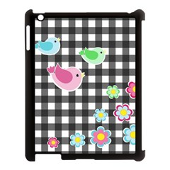 Cute Spring Pattern Apple Ipad 3/4 Case (black) by Valentinaart