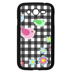 Cute Spring Pattern Samsung Galaxy Grand Duos I9082 Case (black) by Valentinaart