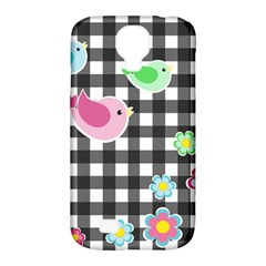 Cute Spring Pattern Samsung Galaxy S4 Classic Hardshell Case (pc+silicone) by Valentinaart