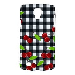 Cherries Plaid Pattern  Galaxy S4 Active by Valentinaart