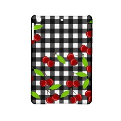 Cherries Plaid Pattern  Ipad Mini 2 Hardshell Cases by Valentinaart