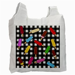 Ice Cream Kingdom  Recycle Bag (one Side) by Valentinaart