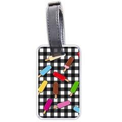 Ice Cream Kingdom  Luggage Tags (one Side)