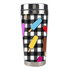 Ice Cream Kingdom  Stainless Steel Travel Tumblers by Valentinaart