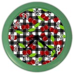 Cherry kingdom  Color Wall Clocks Front