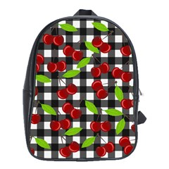 Cherry Kingdom  School Bags (xl)  by Valentinaart