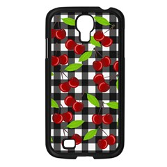 Cherry Kingdom  Samsung Galaxy S4 I9500/ I9505 Case (black) by Valentinaart