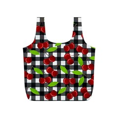 Cherry Kingdom  Full Print Recycle Bags (s)  by Valentinaart