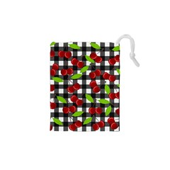 Cherry Kingdom  Drawstring Pouches (xs)  by Valentinaart