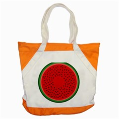 Watermelon Accent Tote Bag by Valentinaart