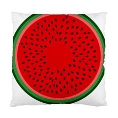 Watermelon Standard Cushion Case (two Sides) by Valentinaart