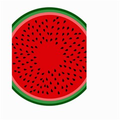Watermelon Small Garden Flag (two Sides)