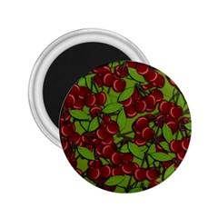 Cherry Jammy Pattern 2 25  Magnets