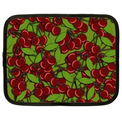 Cherry Jammy Pattern Netbook Case (xxl)