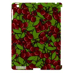 Cherry Jammy Pattern Apple Ipad 3/4 Hardshell Case (compatible With Smart Cover) by Valentinaart