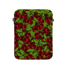 Cherry Jammy Pattern Apple Ipad 2/3/4 Protective Soft Cases by Valentinaart