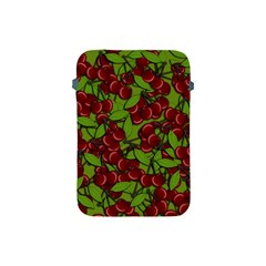 Cherry Jammy Pattern Apple Ipad Mini Protective Soft Cases by Valentinaart