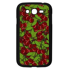 Cherry Jammy Pattern Samsung Galaxy Grand Duos I9082 Case (black) by Valentinaart