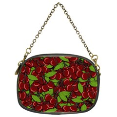 Cherry Pattern Chain Purses (one Side)  by Valentinaart