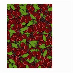 Cherry Pattern Large Garden Flag (two Sides)