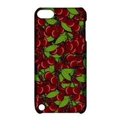 Cherry Pattern Apple Ipod Touch 5 Hardshell Case With Stand