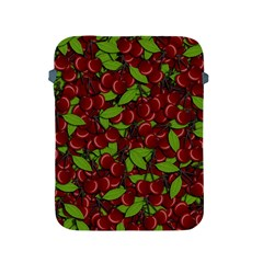 Cherry Pattern Apple Ipad 2/3/4 Protective Soft Cases by Valentinaart
