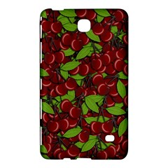 Cherry Pattern Samsung Galaxy Tab 4 (8 ) Hardshell Case  by Valentinaart