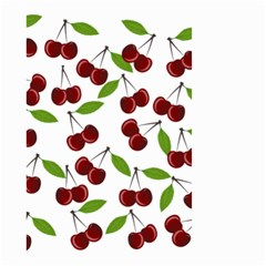 Cherry Pattern Small Garden Flag (two Sides)