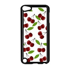 Cherry Pattern Apple Ipod Touch 5 Case (black) by Valentinaart