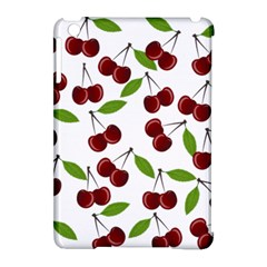 Cherry Pattern Apple Ipad Mini Hardshell Case (compatible With Smart Cover) by Valentinaart