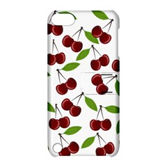 Cherry Pattern Apple Ipod Touch 5 Hardshell Case With Stand by Valentinaart